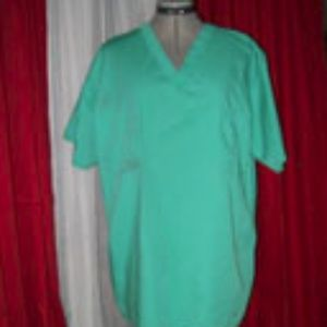 Green Scrub Shirt